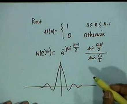 Lecture - 39 FIR Digital Filter Design by Windowing