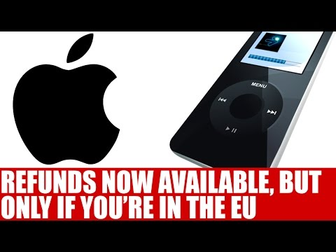 Apple Updates iTunes Store Refund Policy | Refunds Now Open For Accidental Buys - But Only In EU?!