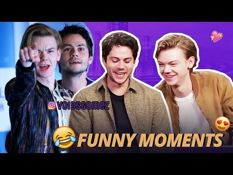 Dylan O'Brien & Thomas Sangster | Funny And Cute Moments