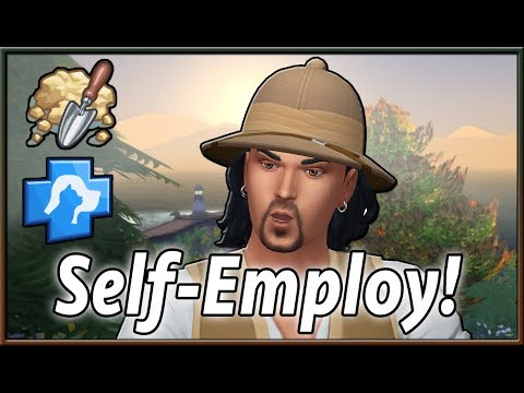 Self-Employment Career Mods!   The Sims 4 (by Neia & Midnitetech)