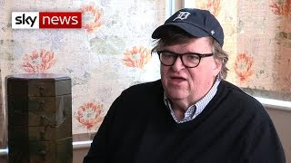 Documentary filmmaker Michael Moore talks about Trump