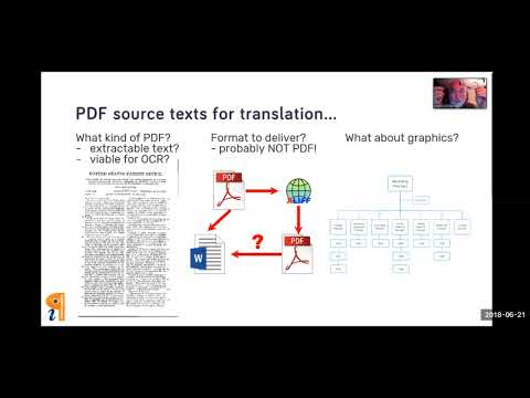PDF in Translation with iceni InFix