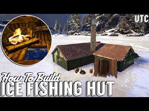 Ice Fishing Cabin :: Ark Survival Evolved How To Build