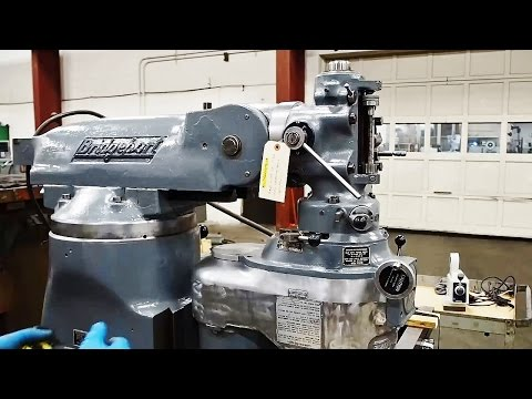 Customer Request Video: Bridgeport Machine Setup *Specific To This Machine Only