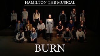 """""""burn"""" From Hamilton (musicality Cover)"""