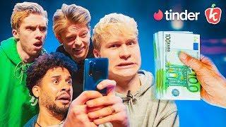 €5.000,- VOOR DEGENE MET DE MEESTE TINDER MATCHES - MONEY MATTIES #1| Kalvijn