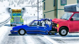 EXTREME CRASHES #57 - BeamNG Drive