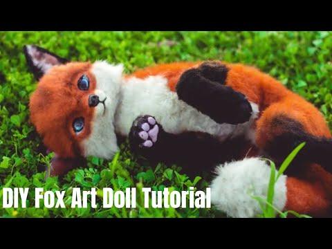 DIY Fox Art Doll Tutorial