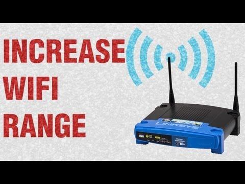 Increase Your WiFi Range