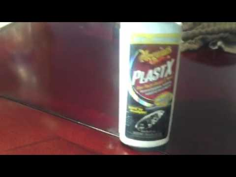 Table repair and restoral from heat burn