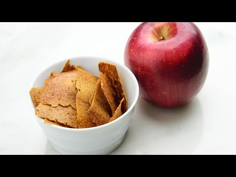 DIY Dried Apple Crisps with Fuji Apples