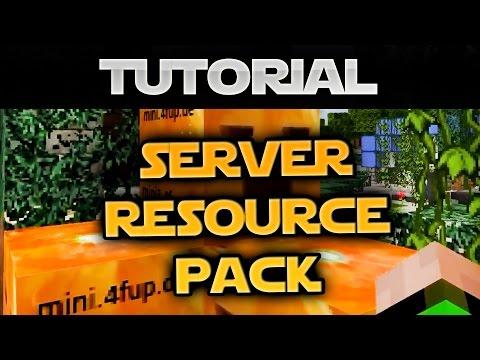 Eigenes Resource-Pack für Server in Minecraft einrichten - Tutorial (Deutsch)