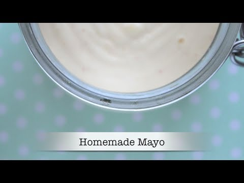 Homemade Mayo with an Immersion Blender