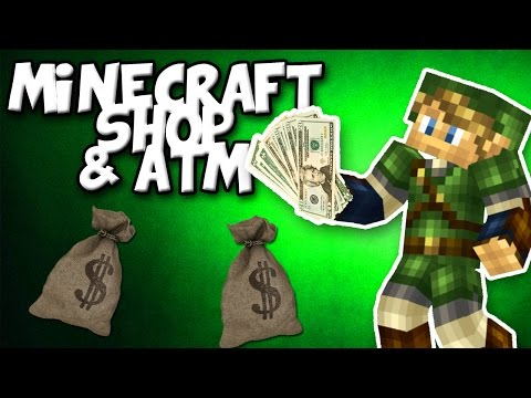 Minecraft shop and ATM