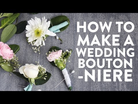 Make This: DIY Boutonniere