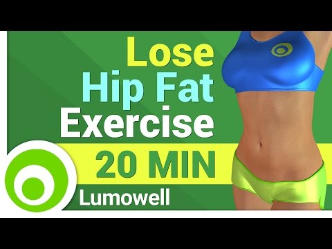 Lose Hip Fat: Exercise for Women