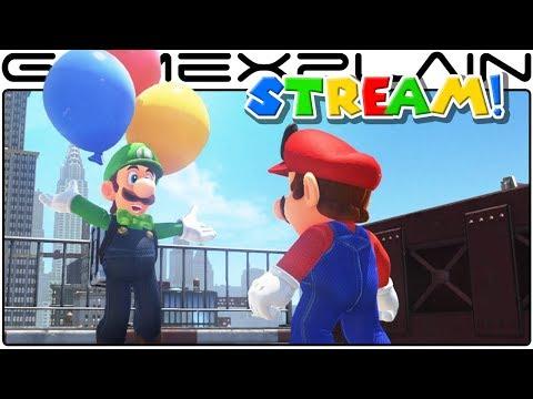 Hiding & Finding Balloons - Luigi's Balloon World LIVESTREAM (Super Mario Odyssey Update)