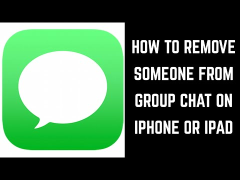 How to Remove Someone from Group Chat on iPhone or iPad