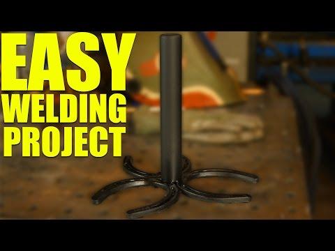 🔥 Simple Horseshoe Welding Project