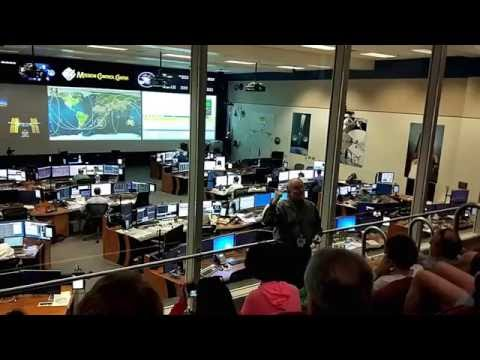 NASA - Space Center Houston - Johnson Space Center - Mission Control Center - Level 9 Tour
