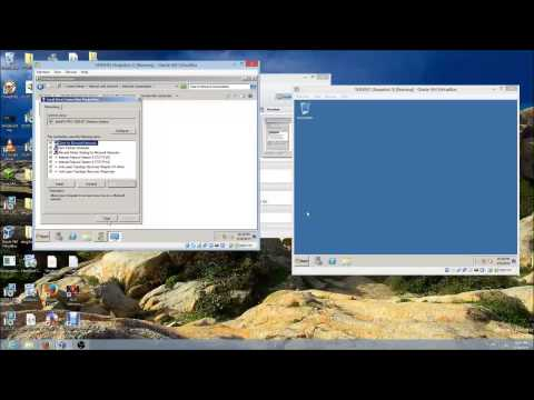 How to configure internal network in VirtualBox
