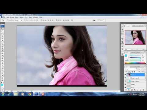 Photoshop cs3 tutorial 19 collage making