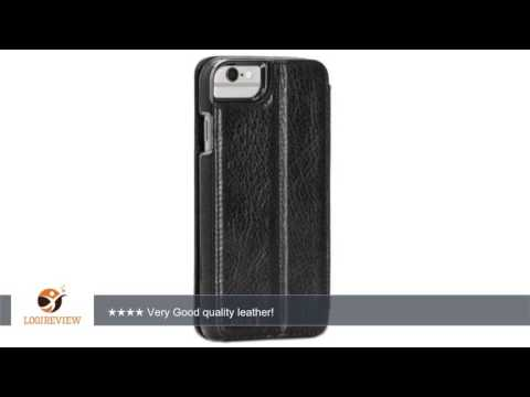Sena Heritage Wallet Book , Leather Wallet Book Case for iPhone 6/6s - Black | Review/Test