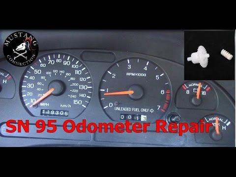 SN95 Mustang Odometer Repair 1995 Mustang GT Restoration Part 3 Mustang Connection