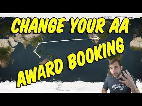 Travel Hack 013 - Bali Trip - Changing an Undesirable AA Award Itinerary for Free.
