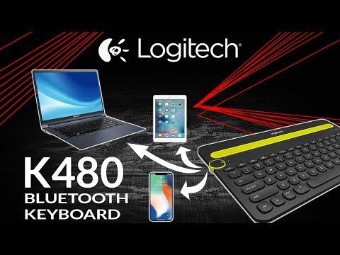 LOGITECH KEYBOARD FOR iPAD - LOGITECH K480 MULTI DEVICE KEYBOARD UNBOXING - iDroid Review