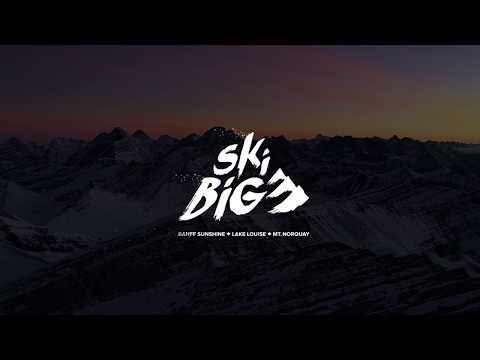 Look Up │SkiBig3 Banff & Lake Louise, Canada