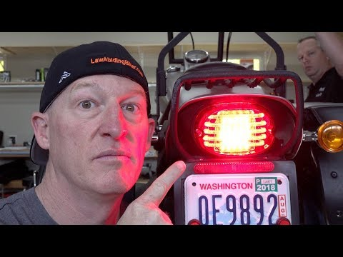 Custom Dynamics ProBeam LED Taillight for Harley-Review & Install