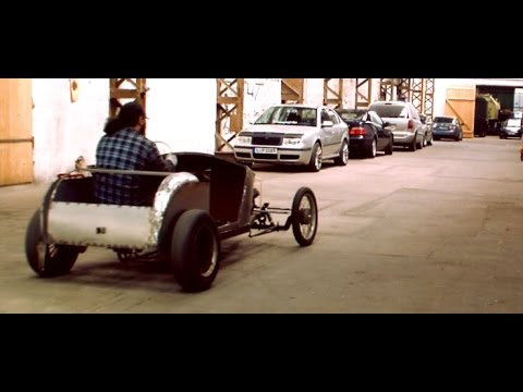 DIY Hot Rod Kart Pt 17 body & serious test drive