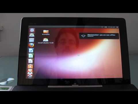 Running Ubuntu on the Asus Transformer Book T100