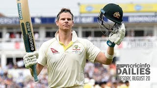 Smith jumps to no. 2 in Test batting rankings