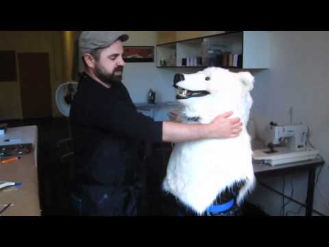 The Making of the Polar Bear Costume