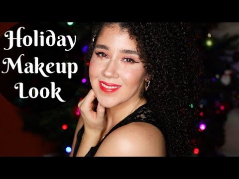 Holiday Makeup Tutorial  Christmas Look   How To Do Your Makeup for The Holidays   #holidaymakeup