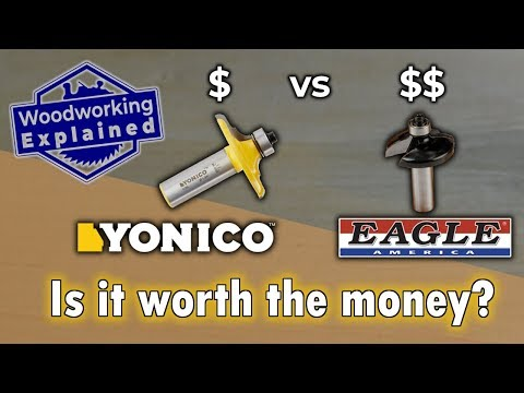 TESTED: Yonico vs Eagle America Router Bits