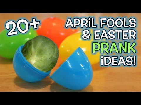 20+ APRIL FOOLS & Easter Pranks!!