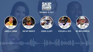 UNDISPUTED Audio Podcast (12.14.17) with Skip Bayless, Shannon Sharpe, Joy Taylor | UNDISPUTED