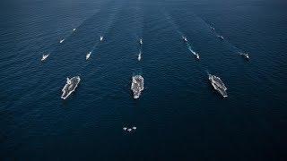 U.S. Flexes Naval Muscle Near North Korea