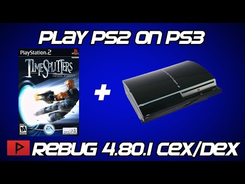[How To] Play PS2 Games on CFW PS3 2016 (Rebug 4.80.1 DEX Tutorial)