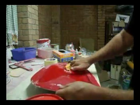 How To Fiberglass - Mold Layup