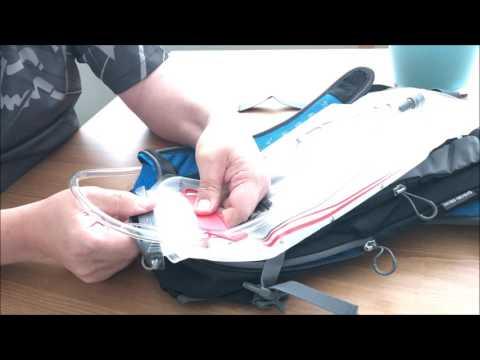How to fill Osprey Hydration pack (Osprey Hydraulics LT)