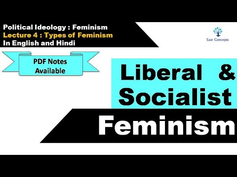 Lecture 4 : Types of Feminism