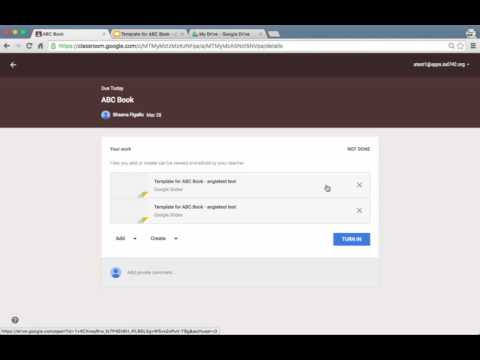 Google Classroom - Student moves sections