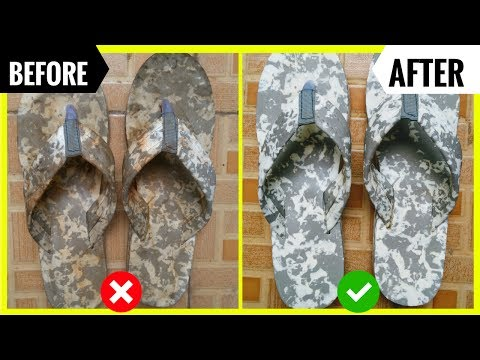How to clean slipper in just a minute.1 min.मे  अपने  चप्पल (slipper) को  साफ करे। Save Time & MONEY