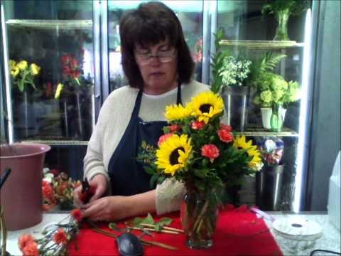DIY Flower Time - Summer Sunflower Vase