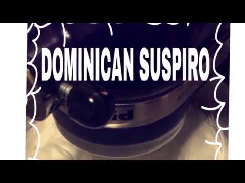 Suspiro Dominicano (meringue) Dominican Frosting