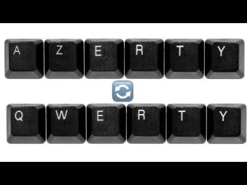 AZERTY to QWERTY